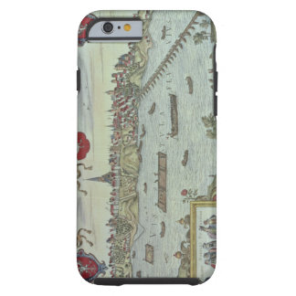 View of the city of Warsaw beside the river Vistul Tough iPhone 6 Case