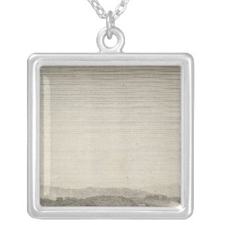 View of the City of Washington in 1800 Silver Plated Necklace