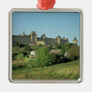 View of the city walls christmas ornament