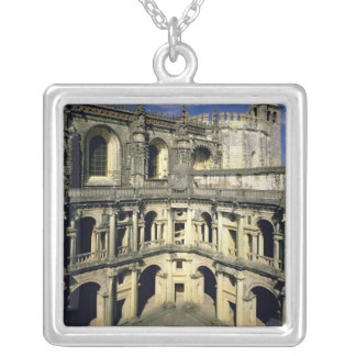 View of the Claustro dos Felipes Silver Plated Necklace