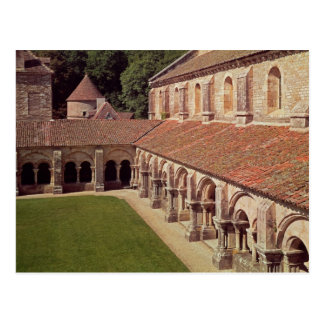 View of the cloister 2 postcard