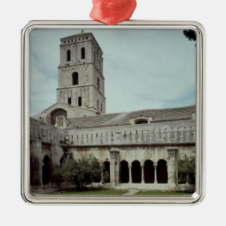 View of the cloister christmas ornament