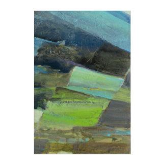 View of the Coast II   Abstract Print 6 Acrylic Wall Art