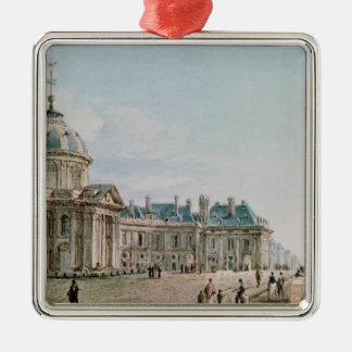 View of the College des Quatre Nations, Paris Christmas Ornament