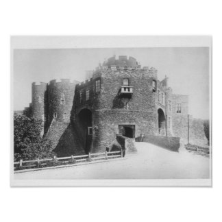 View of the Constable's Gate, built 1221-27 Poster