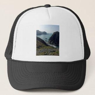 View of the Cornish coast Trucker Hat