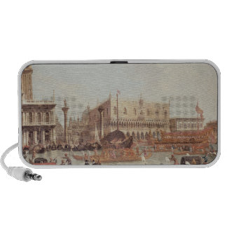 View of the Doge's Palace and the Piazzetta Laptop Speaker