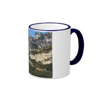 View of the Dolomite mountains in Northern Italy Mugs