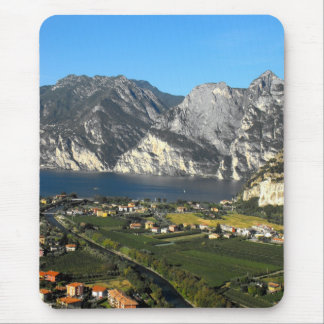 View of the Dolomite mountains of Northern Italy Mouse Pad