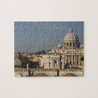 View of the dome of St Peter's Basilica with Jigsaw Puzzle