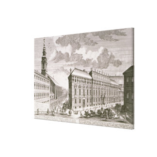 View of the Dorotheergasse showing the Canvas Print