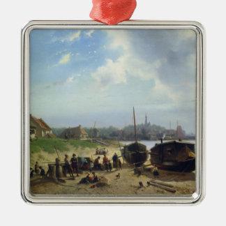 View of the Dutch Coast Christmas Ornament