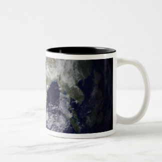 View of the Earth from space Coffee Mug