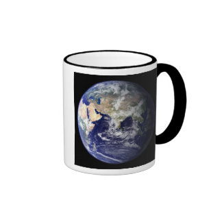 View of the Earth from space Mugs