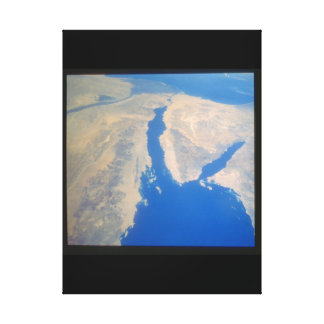 <View of the Earth from space_Space Canvas Print