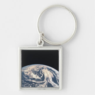 View of the Earths Surface Key Ring