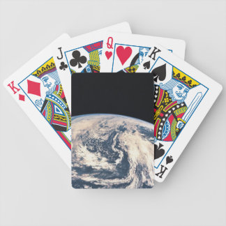 View of the Earths Surface Poker Deck