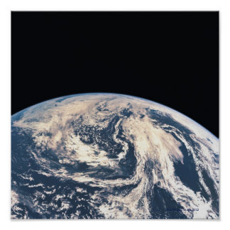 View of the Earths Surface Poster