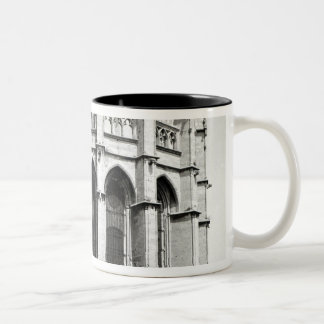 View of the east end of the church, built coffee mug