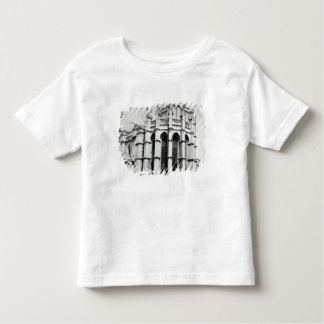 View of the east end of the church, built t shirt