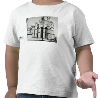View of the east end of the church, built tee shirt
