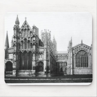 View of the east facade and the choir, c.1321-40 mouse mat