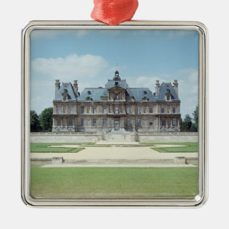 View of the East facade of Chateau de Maisons Christmas Ornament