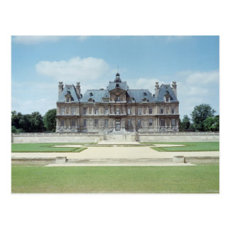 View of the East facade of Chateau de Maisons Postcard