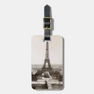 View Of The Eiffel Tower, 1900 Luggage Tag