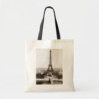 View Of The Eiffel Tower, 1900 Budget Tote Bag