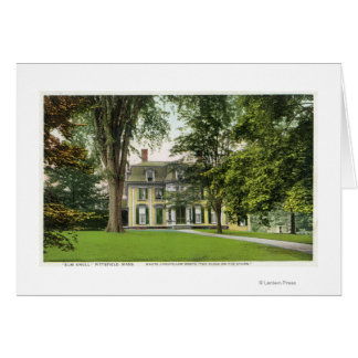 View of the Elm Knoll, Longfellow Resided Here Greeting Card