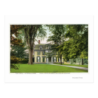 View of the Elm Knoll, Longfellow Resided Here Postcard