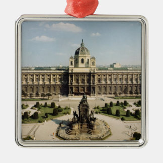 View of the entrance and north fa�ade christmas ornament