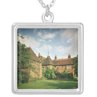 View of the exterior, designed for William Silver Plated Necklace