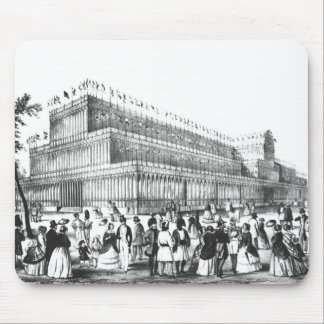 View of the Exterior of the Crystal Palace Mouse Mat