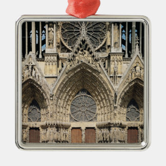 View of the facade, 13th-14th century christmas ornament