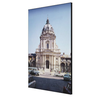 View of the facade of Val-de-Grace Canvas Print