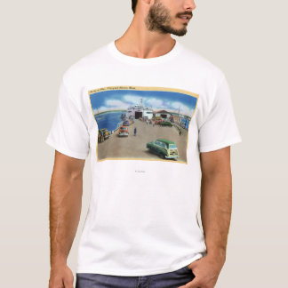 View of the Ferry at the Pier T-Shirt