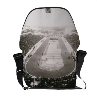 View of the first official Olympic Games in Athens Commuter Bag