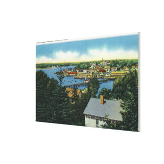 View of the Foot Bridge Canvas Print