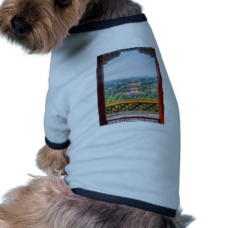 View of the Forbidden City from Jing Shan Doggie Tee Shirt