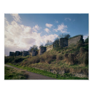 View of the fortifications, 1226-42 posters