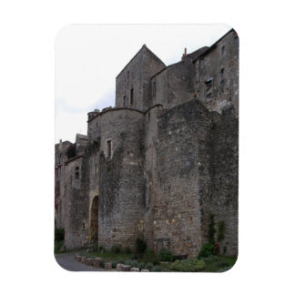 View of the fortified village (photo) 3 rectangular photo magnet