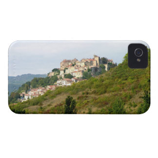 View of the fortified village (photo) iPhone 4 Case-Mate cases