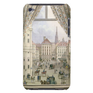 View of the Freyung, Vienna, 1825 (gouache on pape Barely There iPod Cases