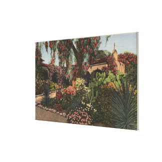 View of the Front Mission Garden Canvas Prints
