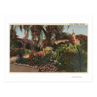 View of the Front Mission Garden Postcard