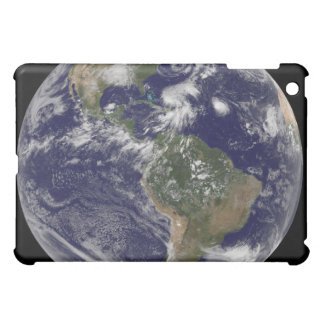View of the full Earth and four storm systems Case For The iPad Mini