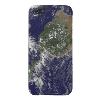 View of the full Earth and four storm systems Cover For iPhone 5/5S