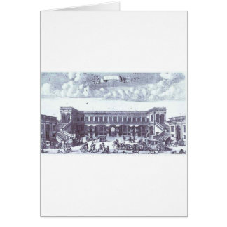 View of the Gagarin's Moscow Mansion Greeting Card